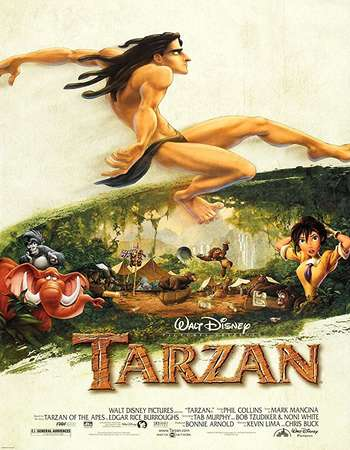 Tarzan 1999 400MB BluRay Hindi Dual Audio 720p HEVC ESubs