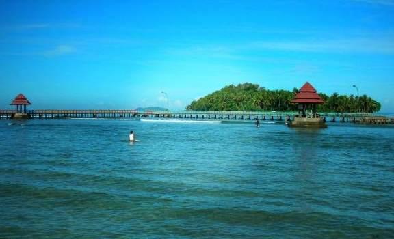 lokasi wisata Pantai carocok