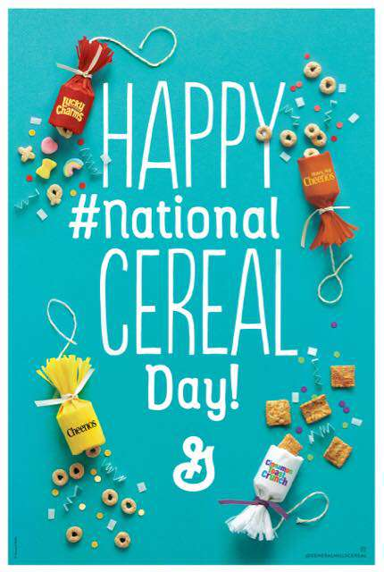 National Cereal Day Wishes Lovely Pics