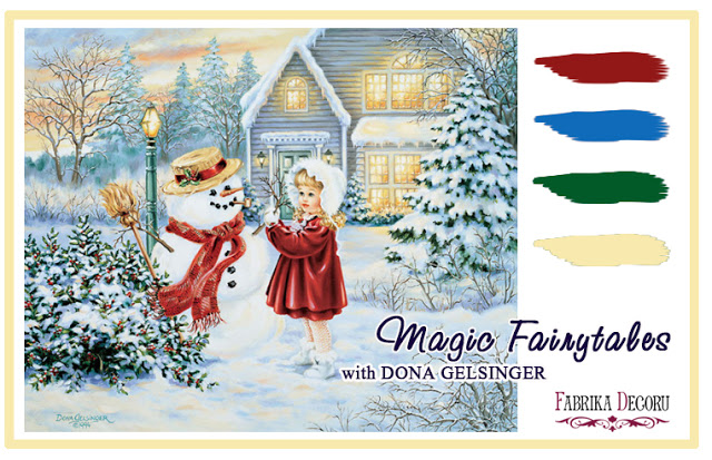 +++Задание декабря Magic Fairytales with Donna Gelsinger до 31/12