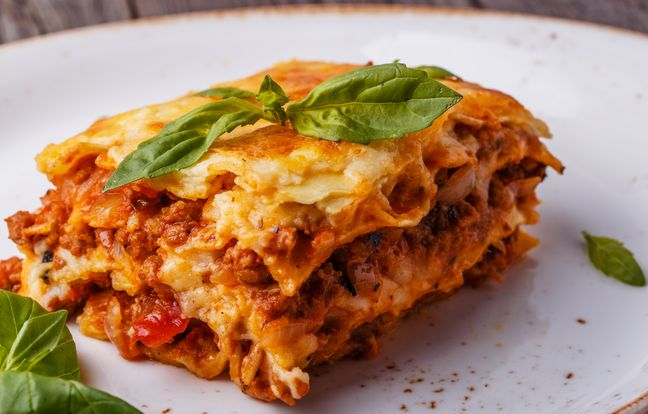 lasagna with bolognese