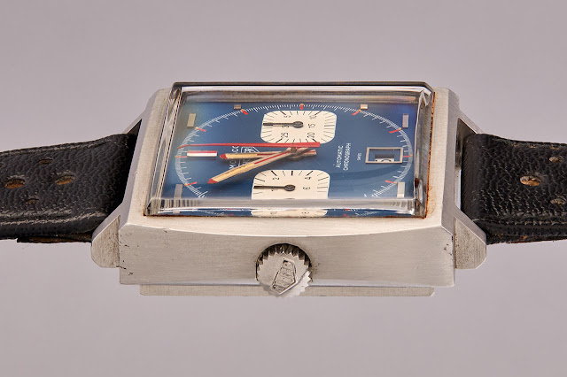 The Heuer Monaco worn by Steve McQueen for the 1971 film Le Mans
