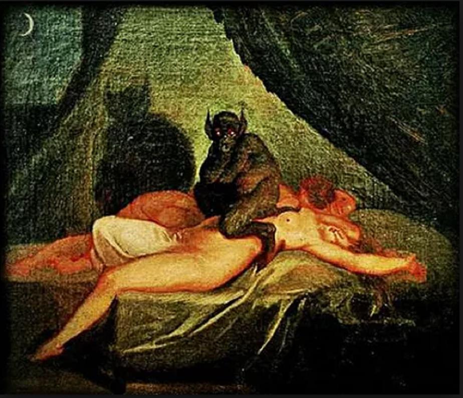 Erotic demon