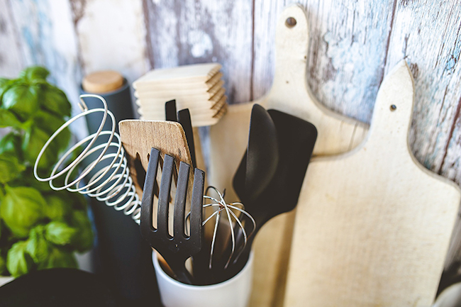 Libera tu cocina de utensilios y conviertela en minimalista