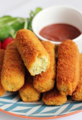Easy Potato Croquettes