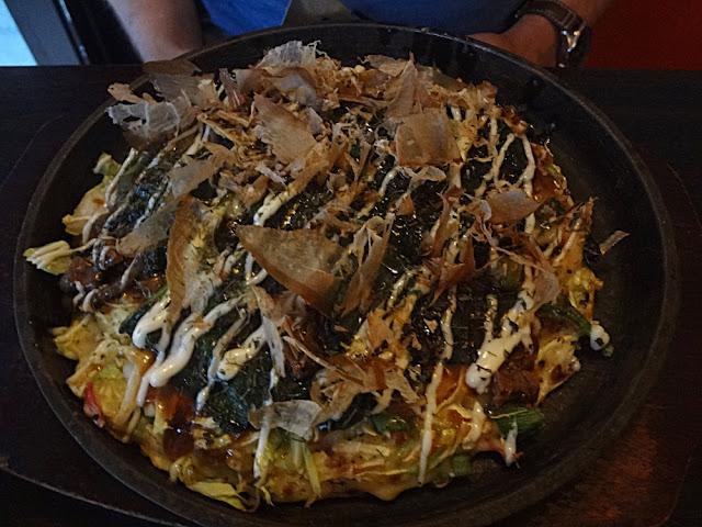 Shogayaki special (met gemarineerd rundvlees, wilde spinazie en ui)