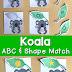Koala Alphabet & Shape Matching