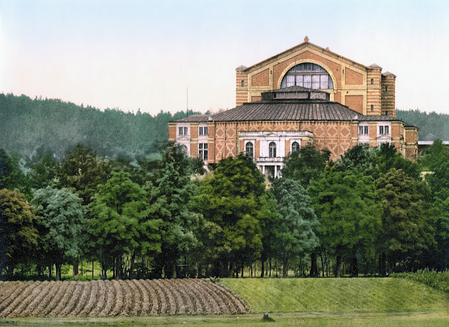 The Festspielhaus at Bayreuth in 1900