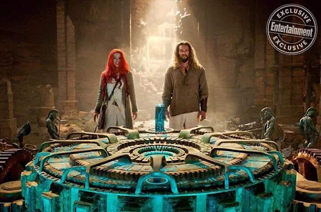 Nueva imagen de Aquaman revela a Arthur y Mera en busca de pistas