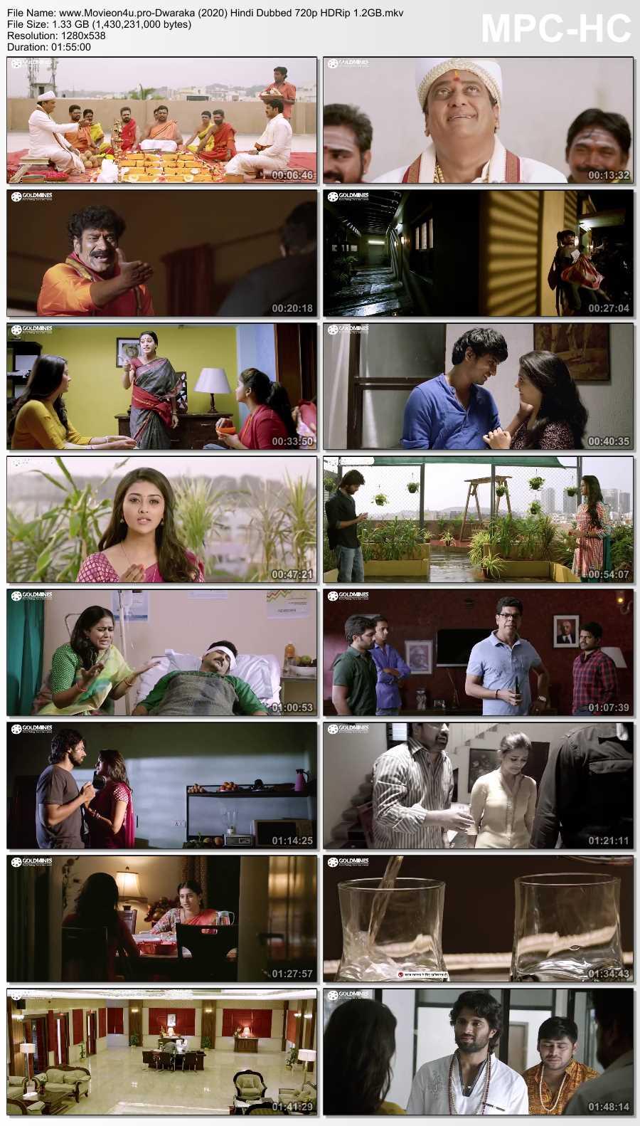 Dwaraka (2020) Hindi Dubbed Full Movie Download
