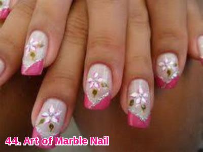 Art of Marble Nail