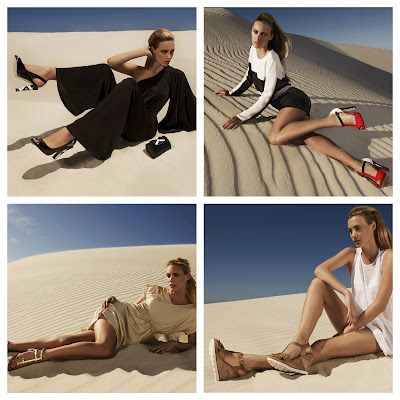 Dune Shoes Spring / Summer 2013 Collection From Desert