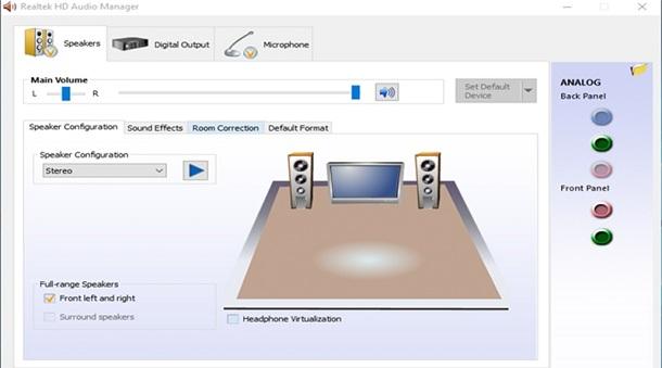 Realtek HD Audio Manager - Driver âm thanh cho Win 7/8/10 (32-bit ,64-bit) a