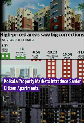 Kolkata Property Markets Introduce Senior Citizen Apartments, Senior Citizen Apartments