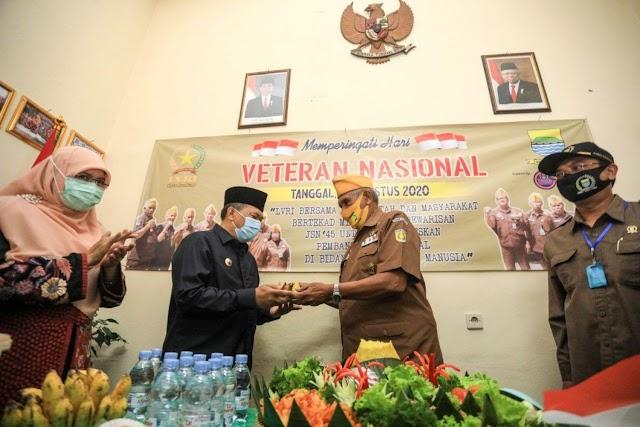Wali Kota  Bandung : Diusia Lanjut Para Veteran Tetap Ikut  Berjuang Melawan Covid-19