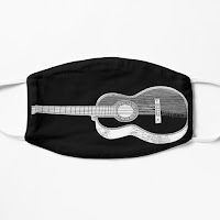 Mascarillas reutilizables de música