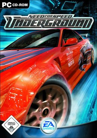 Need for Speed Underground Game Cover