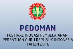 Download Pedoman Festival Inovasi Pembelajaran PGRI Tahun 2018