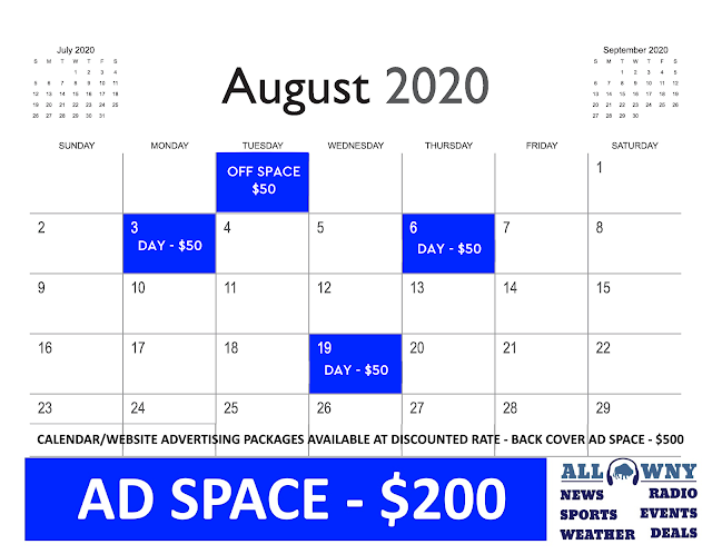 2020 Calendar Advertising - All WNY News