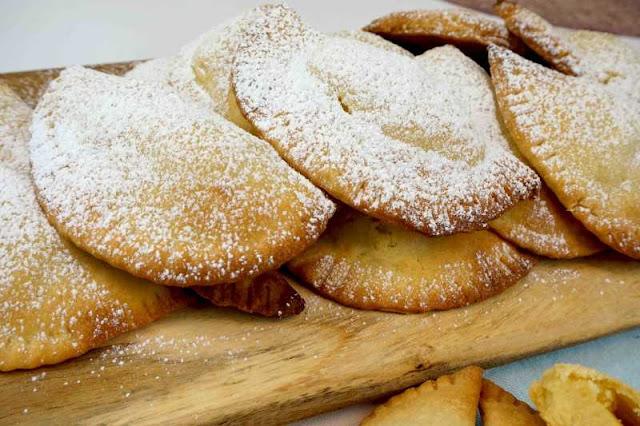Empanadillas dulces o robiols