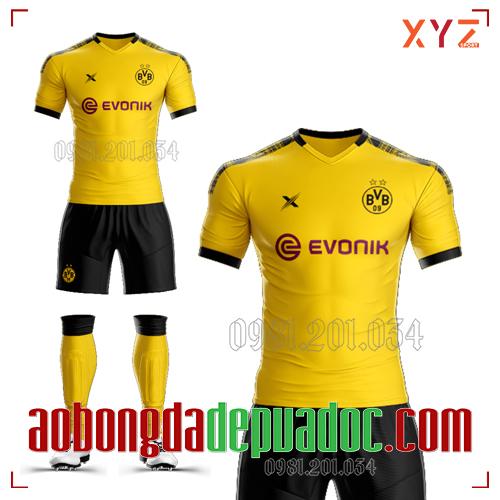 Áo Dortmund 2020 Sân Nhà Màu Vàng Đẹp Và Độc