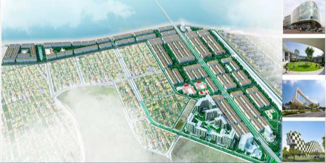 Phối cảnh khu đô thị FLC Cao Xanh Hà Khánh