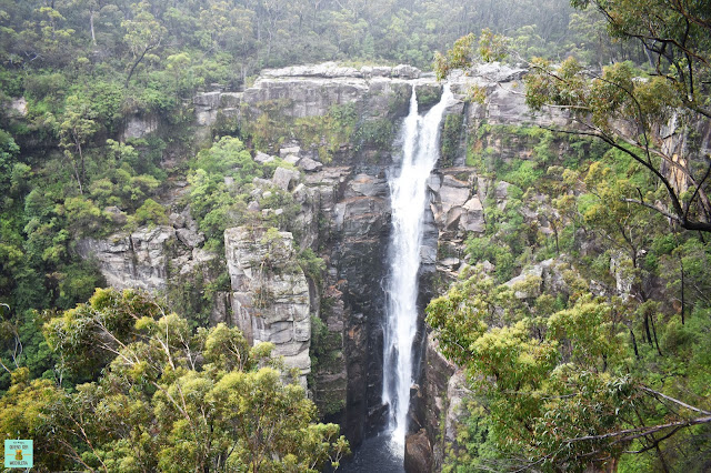 Carrington Falls en Budderoo National Park, Australia