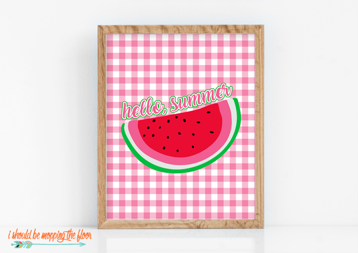 Summer Watermelon Printables