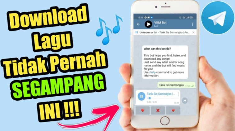 Bot Telegram Download Lagu