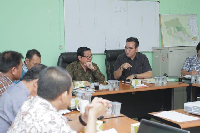 Fokus Siapkan Opsi Pencegahan Karhutbunlah, Wabup Muba Temui TRGD Sumsel