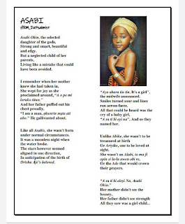 A yoruba nigerian poem