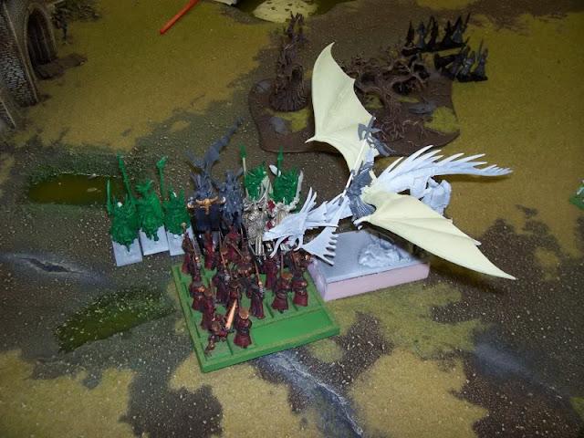 Warhammer Fantasy High Elves vs Vampire Counts battle report