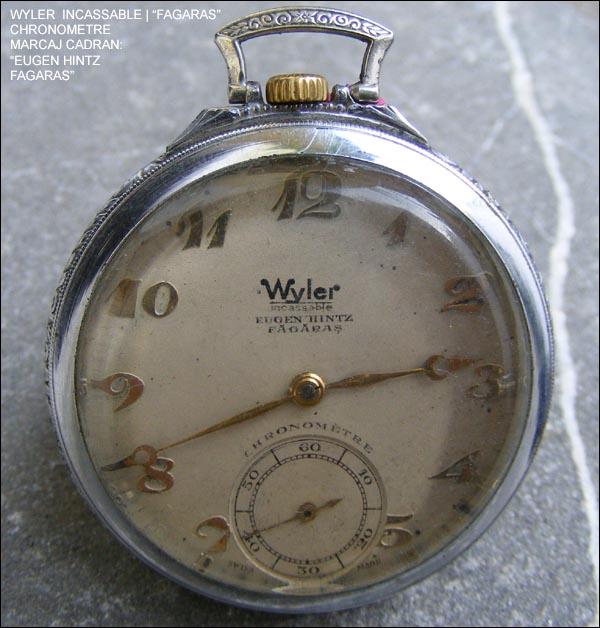 Wyler Eugen Hintz pocket watch