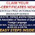 HOW TO CLAIM YOUR E- CERTIFICATES( FREE INTERNATIONAL WEBINAR FOR TEACHERS DEPED EDTECH+ GENTEFL)