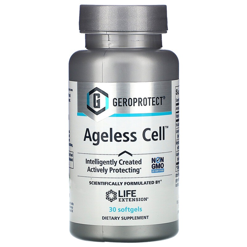Life Extension, GEROPROTECT Ageless Cell, 30 Softgels