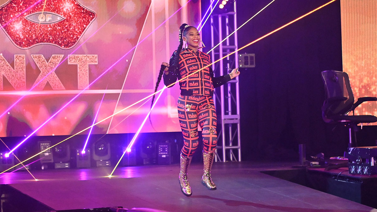 Informações sobre status de Bianca Belair na WWE