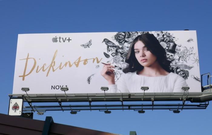 Dickinson Apple TV+ Series premiere billboard