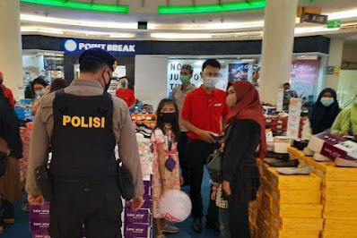 Kapolresta Pekanbaru Mengantisipasi Kapasitas Pengunjung di Pusat Perbelanjaan dan Tempat Wisata