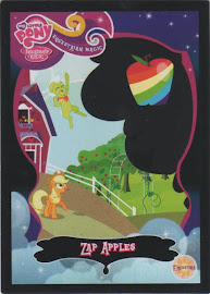MLP Zap Apples Series 2 Trading Card