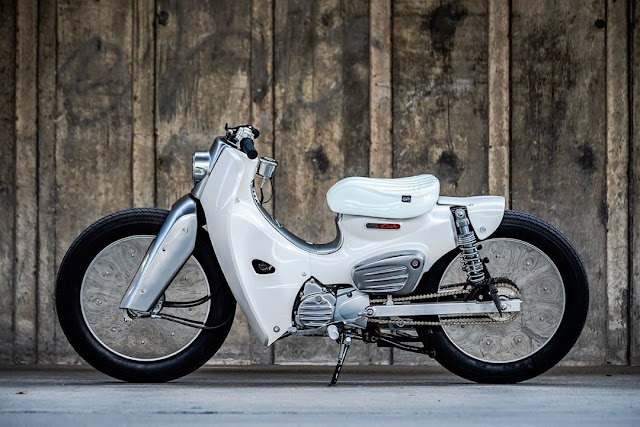 Honda Super Cub 110i By K-Speed Hell Kustom