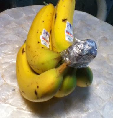 bananas truco cocina
