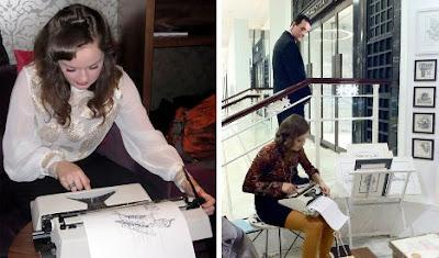 Arte con maquinas de escribir