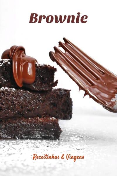 Receita de Brownie de chocolate