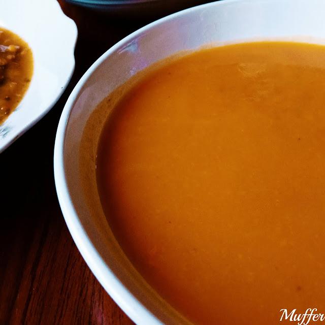 Sabores de la Pao - Crema de Zapallos y Zanahorias Asadas
