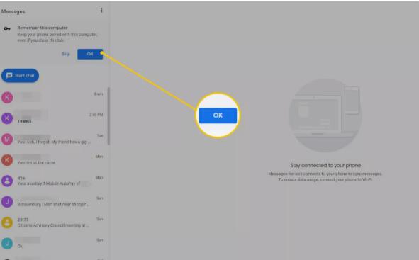Cara Mudah Mengatur dan Menggunakan Pesan Android di PC 6