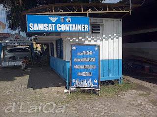 Samsat Container Golden Dragon
