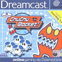 Chu Chu Rocket Dreamcast cover art
