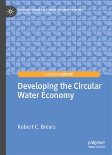 Developing The Circular Water Economy
