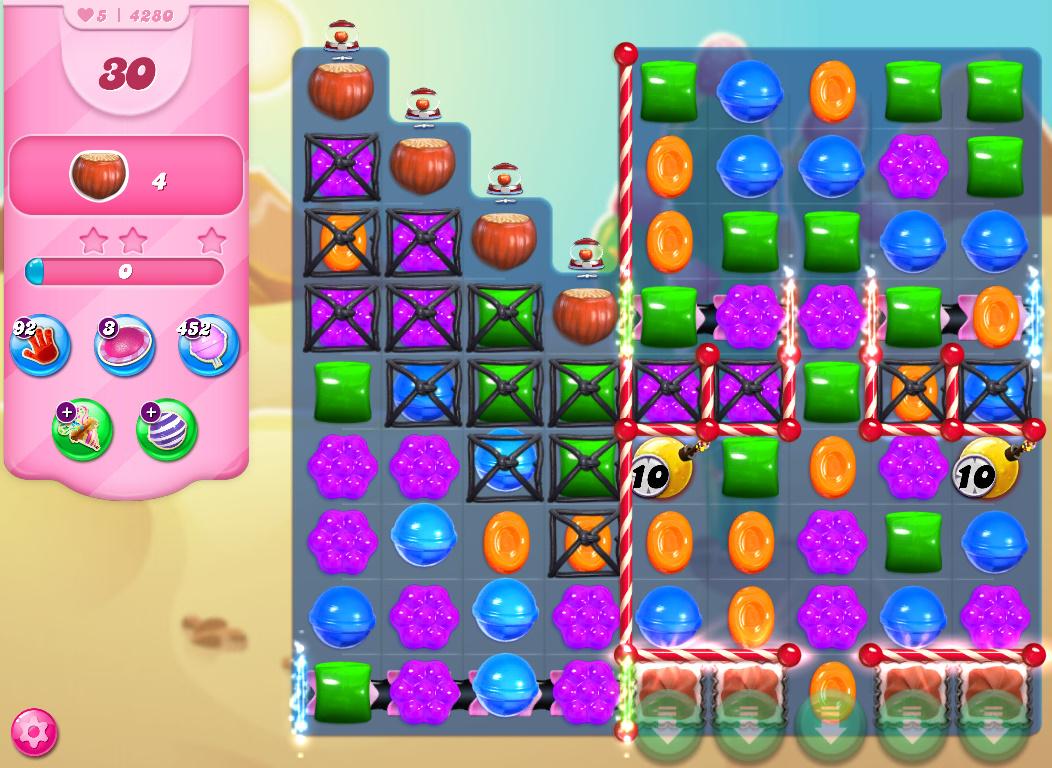 Candy Crush Saga level 4280