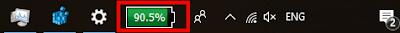 Menampilkan ikon baterai di taskbar windows  Menampilkan icon baterai di taskbar windows 10